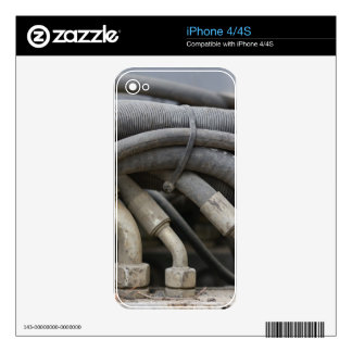 Hydraulic Equipment iPhone 4 Decal