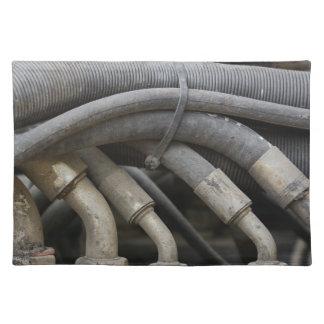 Hydraulic Equipment Place Mats