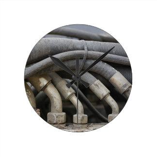Hydraulic Equipment Round Clock
