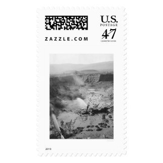Hydraulic Gold Mining Alaska 1912 Postage Stamp