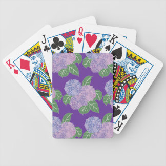 Hydreangas Hortensia Bicycle Playing Cards