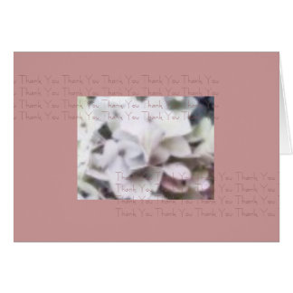 Hydrenga Thank You Card