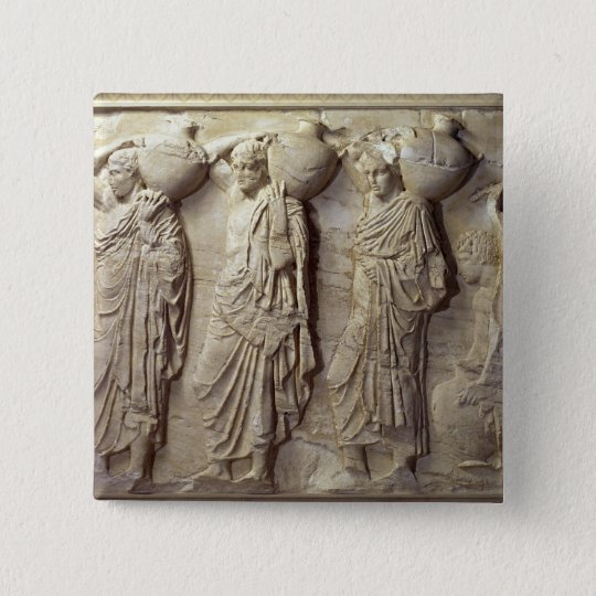 Hydria carriers from the North Frieze Button