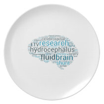 Hydro Brain Melamine Plate