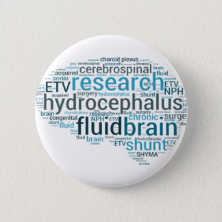 Hydro Brain Pinback Button