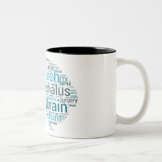 Hydro Brain Two-Tone Coffee Mug