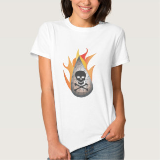 Hydro-frack water on fire shirt