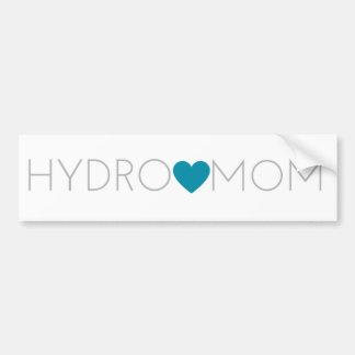 Hydro Mom Bumper Sticker