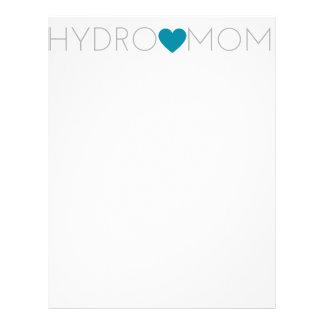 Hydro Mom Letterhead