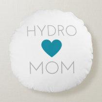 Hydro Mom Round Pillow