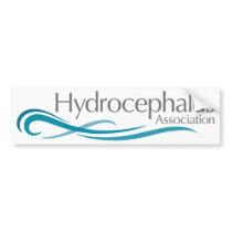 Hydrocephalus Association Logo Bumper Sticker