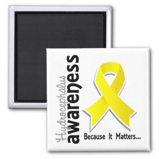 Hydrocephalus Awareness 5 2 Inch Square Magnet