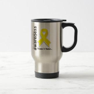 Hydrocephalus Awareness 5 15 Oz Stainless Steel Travel Mug