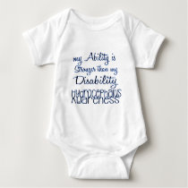 Hydrocephalus Awareness Baby Bodysuit