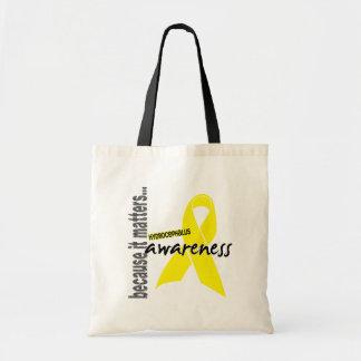 Hydrocephalus Awareness Canvas Bags
