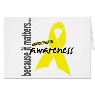 Hydrocephalus Awareness Greeting Card