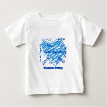 hydrocephalus awareness ladybugs swarm baby T-Shirt