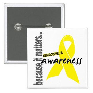 Hydrocephalus Awareness Pin