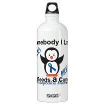 Hydrocephalus Awareness Someone I Love Aluminum Water Bottle