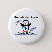 Hydrocephalus Awareness Someone I Love Pinback Button