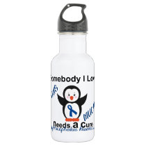 Hydrocephalus Awareness Someone I Love Stainless Steel Water Bottle