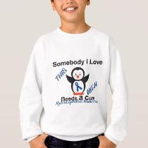Hydrocephalus Awareness Someone I Love Sweatshirt