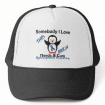 Hydrocephalus Awareness Someone I Love Trucker Hat