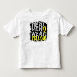 Hydrocephalus Real Men Wear Yellow Toddler T-shirt