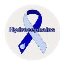 Hydrocephalus Ribbon Frosting sheets