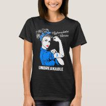 Hydrocephalus Warrior Unbreakable T-Shirt