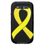 Hydrocephalus Yellow Ribbon 3 Galaxy S3 Covers