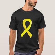 Hydrocephalus Yellow Ribbon 3 T-Shirt