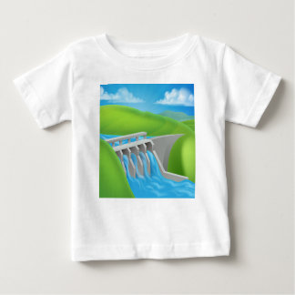 Hydroelectric Power Dam Generating Electricity Baby T-Shirt