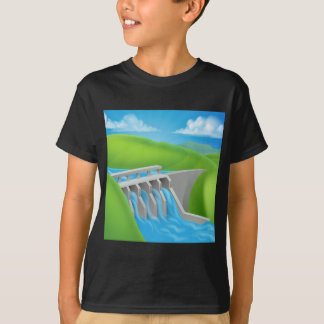 Hydroelectric Power Dam Generating Electricity T-Shirt