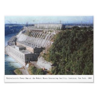 Hydroelectric Power Dam Lewiston New York Print Photo Print