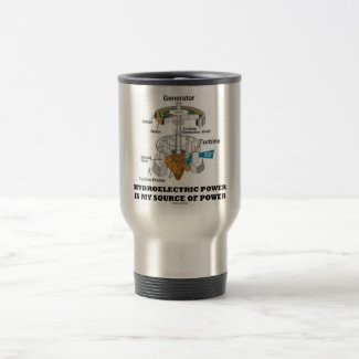 Hydroelectric Power Is My Source Of Power Coffee Mug