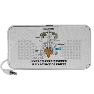 Hydroelectric Power Is My Source Of Power Mp3 Speaker