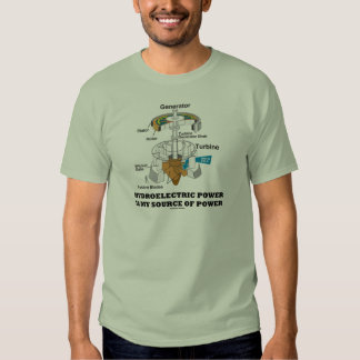 Hydroelectric Power Is My Source Of Power T-Shirt