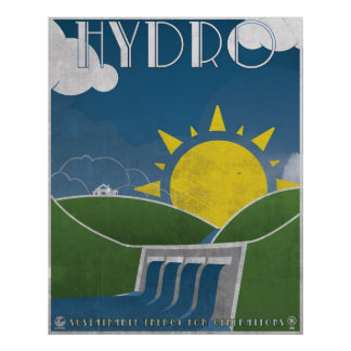 Hydroelectricity Poster