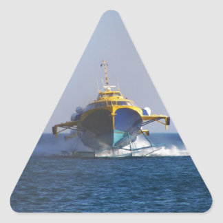 Hydrofoil At Speed Triangle Sticker