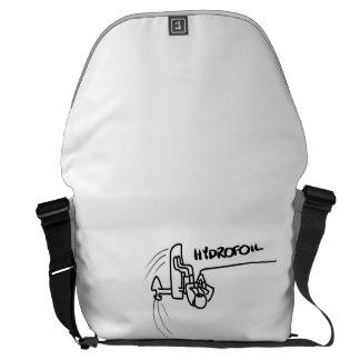 Hydrofoil bag messenger bags