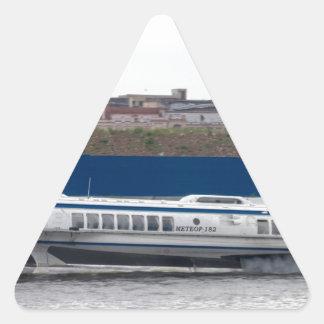 Hydrofoil St Petersburg Russia Triangle Sticker