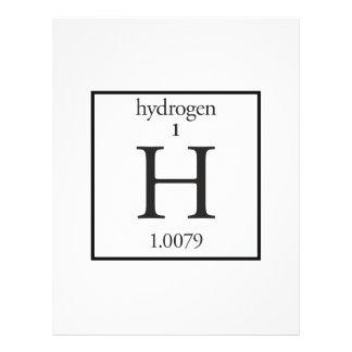 Hydrogen Full Color Flyer