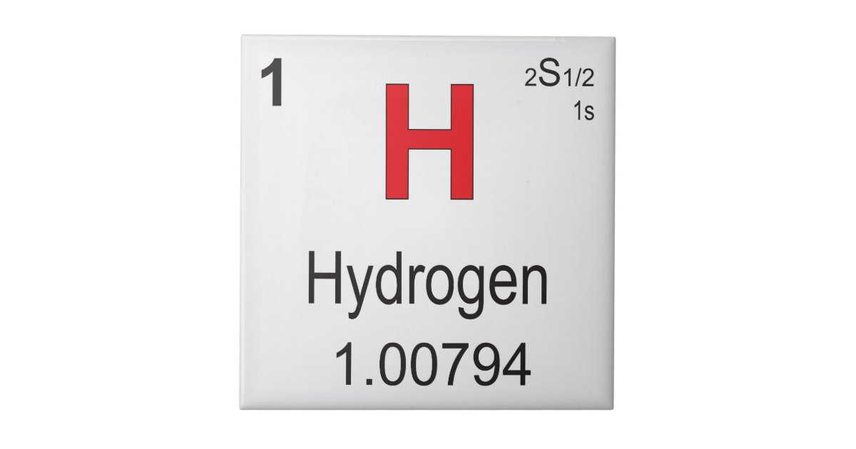 Hydrogen Individual Element Of The Periodic Table Small