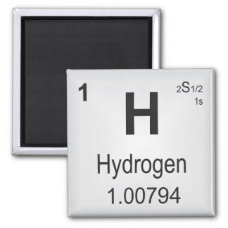 Hydrogen Magnet Periodic Table of Elements