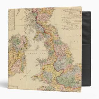 Hydrographical map, British Isles Binder