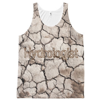 """Hydrologist"" Tank All-Over Print Tank Top"