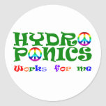 HydroNics Classic Round Sticker