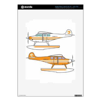 Hydroplane. Floating plane. vector iPad 3 Decals