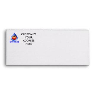 Hydroponic Tomato water drop design logo Envelopes